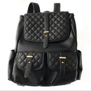 MOSSIMO vegan leather backpack